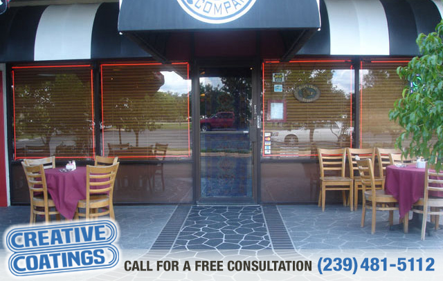 If you are looking for commercial conrete overlays in Ft Myers Florida