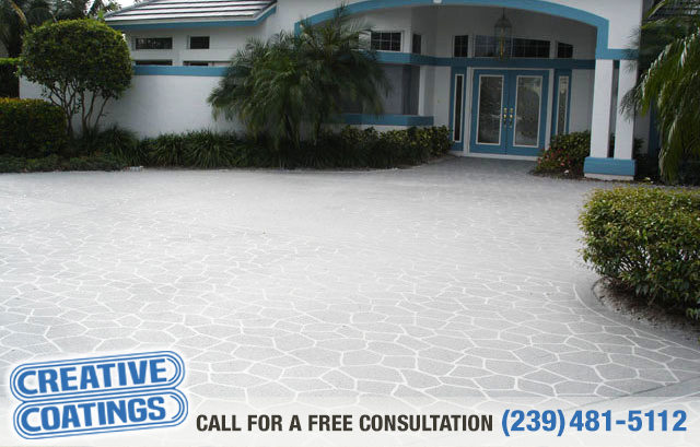 If you are looking for concrete overlays in Ft Myers Florida