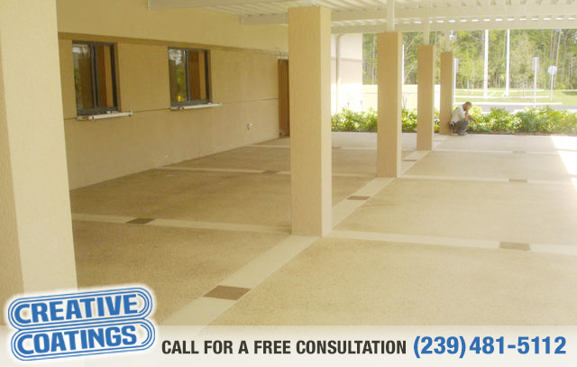 If you are looking for concrete sealing in Ft Myers Florida