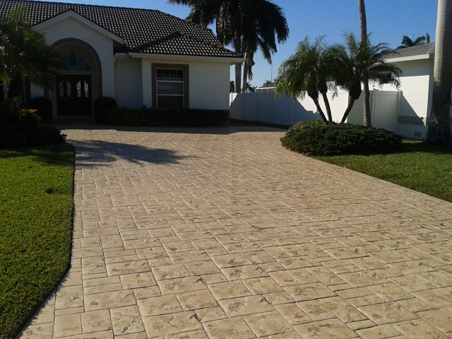 If you are looking for concrete staining in Ft Myers Florida