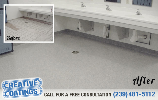 If you are looking for seamless flooring in Ft Myers Florida