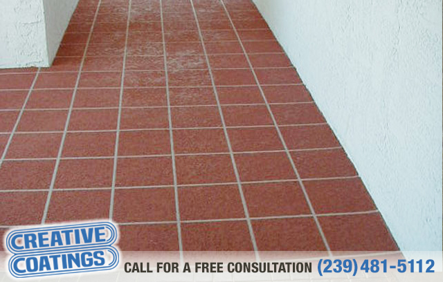 If you are looking for driveway walkway concrete coatings in Ft Myers Florida
