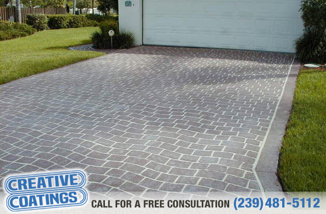 If you are looking for driveway concrete overlays in Bonita Springs Florida
