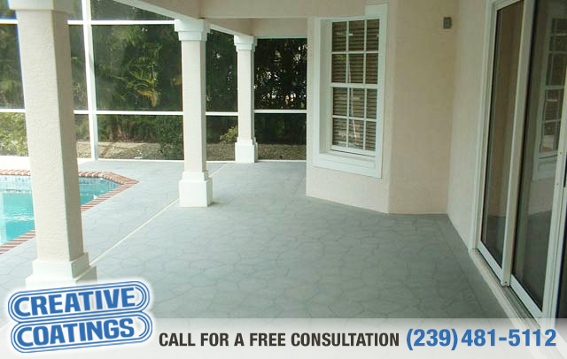 If you are looking for floor concrete overlays in Bonita Springs Florida