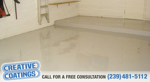 If you are looking for garage concrete coatings in Bonita Springs Florida
