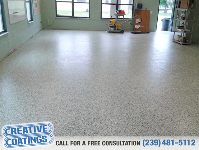 If you are looking for garage decorative concrete coatings in Bonita Springs Florida