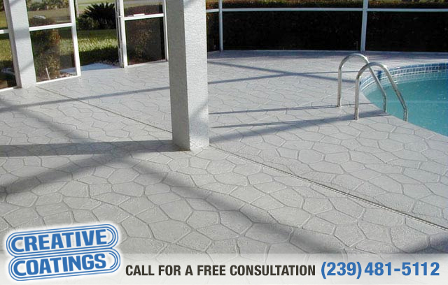 If you are looking for patio silicone concrete coating in Bonita Springs Florida