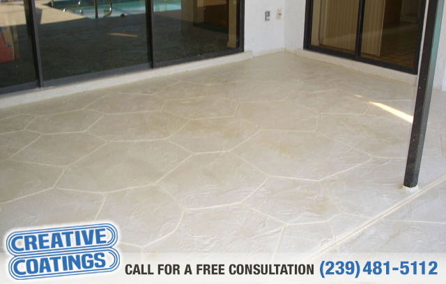 If you are looking for patio concrete coatings in Cape Coral Florida