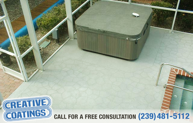 If you are looking for pool deck concrete coatings in Cape Coral Florida