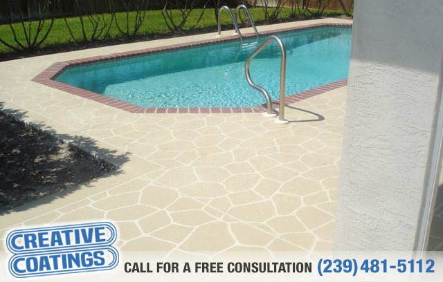 If you are looking for pool deck concrete overlays in Cape Coral Florida