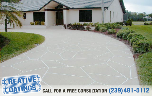 If you are looking for driveway concrete coatings in Lehigh Acres Florida