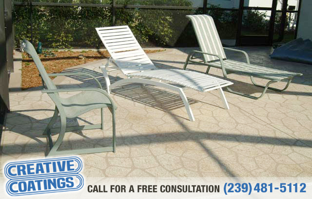 If you are looking for patio concrete coatings in Lehigh Acres Florida