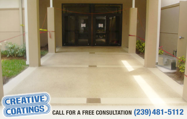 M	If you are looking for commercial decorative concrete coatings in Naples Florida