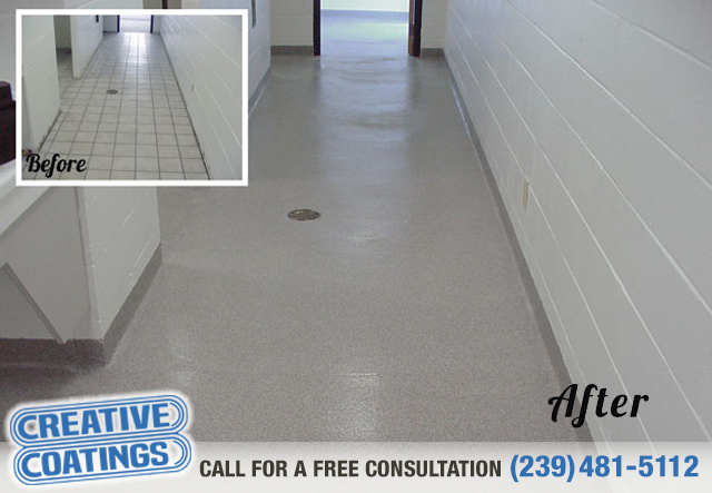 If you are looking for commercial epoxy floor concrete coatings in Naples Florida