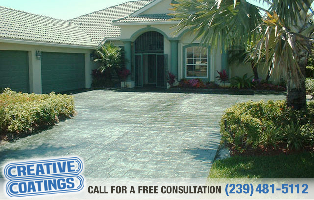 If you are looking for driveway silicone concrete coating in Naples Florida