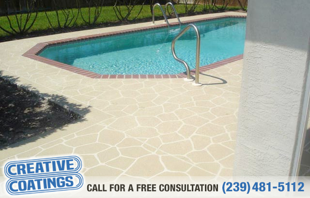 If you are looking for pool deck concrete coatings in Naples Florida