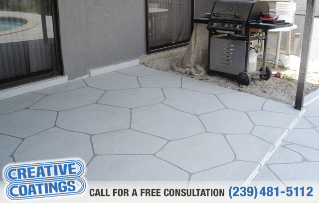 If you are looking for pool deck decorative concrete coatings in Naples Florida