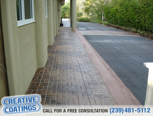 If you are looking for walkway silicone concrete coating in Naples Florida